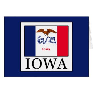 Iowa Tarjeta De Felicitación
