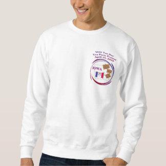 Iowa Tax Day Tea Party Protest Sweatshirt