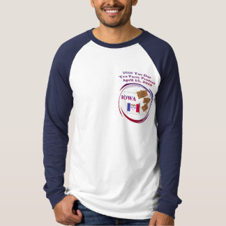 Iowa Tax Day Tea Party Protest T-Shirt