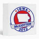 Iowa Thad McCotter Binders