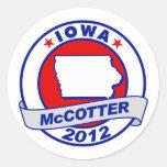 Iowa Thad McCotter Stickers