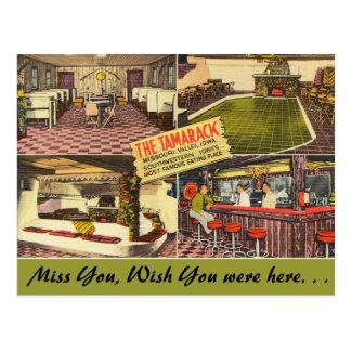 Iowa, The Tamarack, Missouri Valley Postcard