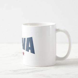 Iowa Three Stars Design Mugs