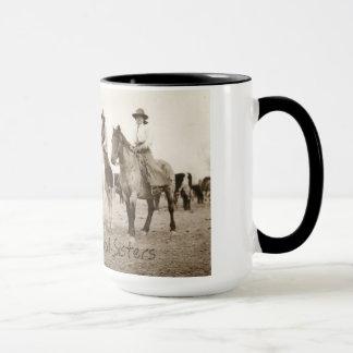 Iowa Trail Sisters Vintage mug