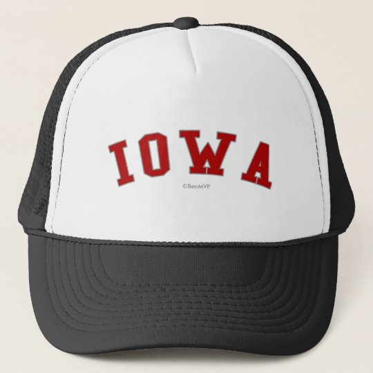 Iowa Trucker Hat