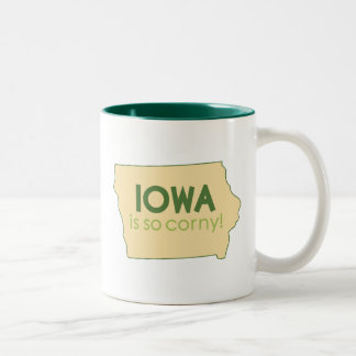 Iowa Two-Tone Coffee Mug
