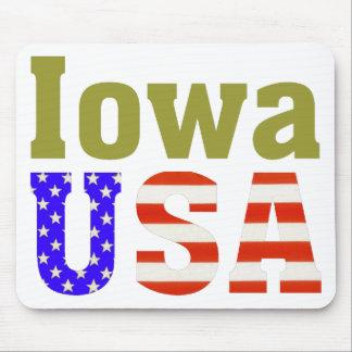 Iowa USA! Mouse Pad