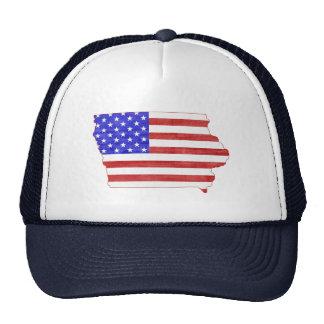 Iowa USA silhouette state map Trucker Hat