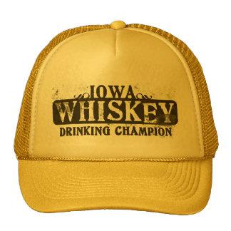 Iowa Whiskey Drinking Champion Trucker Hat
