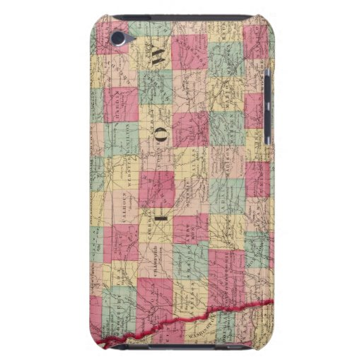 Iowa y Nebraska 2 Funda Para iPod De Case-Mate