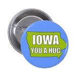 IOWA you a hug Button