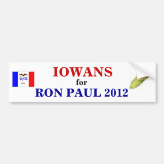IOWANS for PAUL 2012 sticker