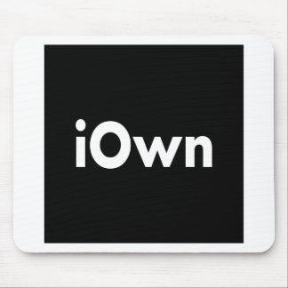 iOwn Alfombrillas De Ratón