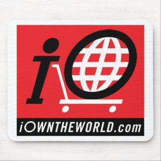iOwnTheWorld.com Logo Mouse Pad