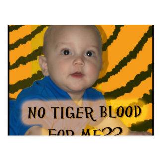 IP 5 tiger blood Postcard