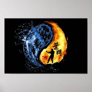 Ip Man Wing Chun Yin Yang Print