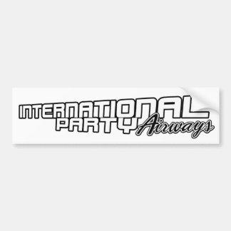 IPA Bumper Sticker