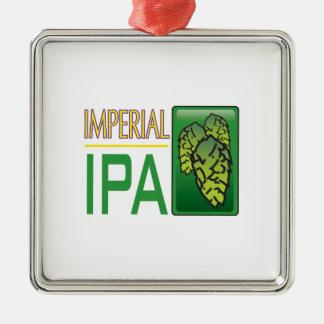 IPA imperial Adorno Navideño Cuadrado De Metal