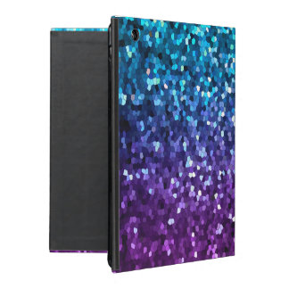 iPad 2/3/4 Case Mosaic Sparkley Texture iPad Folio Case