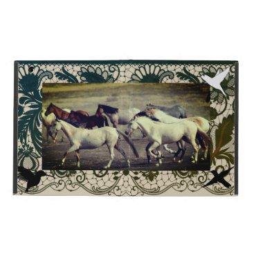 iPad 2/3/4 Case No Kickstand WILD HORSES OF UTAH