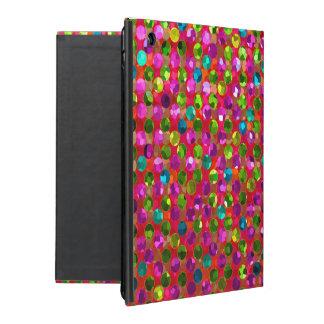 iPad 2/3/4 Case Polka Dot Sparkley Jewels