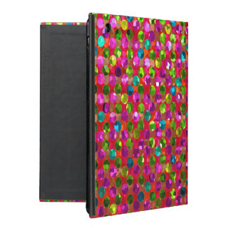 iPad 2/3/4 Case Polka Dot Sparkley Jewels iPad Cases