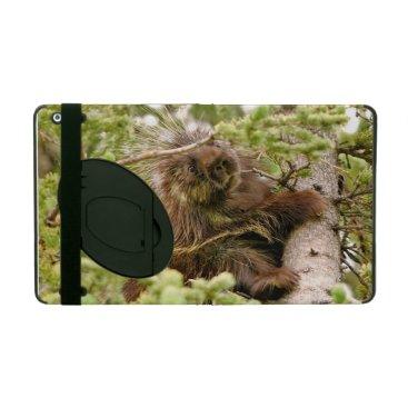 iPad 2/3/4 Case with Kickstand w/ porcupine