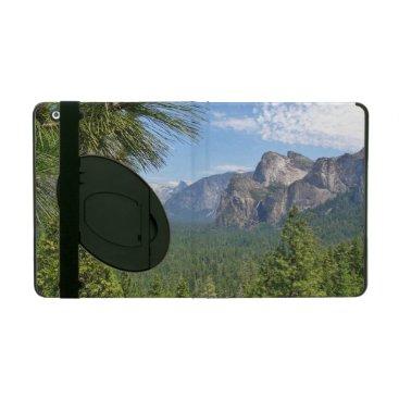 iPad 2/3/4 Case with Kickstand w/ Yosemite valley