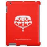 [Crown upside down]  iPad 2/3/4 Cases