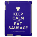 [Chef hat] keep calm and eat sausage  iPad 2/3/4 Cases