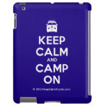 [Campervan] keep calm and camp on  iPad 2/3/4 Cases