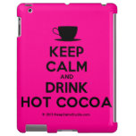 [Cup] keep calm and drink hot cocoa  iPad 2/3/4 Cases