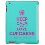 [Cupcake] keep calm and love cupcakes  iPad 2/3/4 Cases