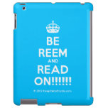 [Crown] be reem and read on!!!!!!  iPad 2/3/4 Cases