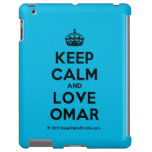 [Crown] keep calm and love omar  iPad 2/3/4 Cases