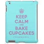 [Cupcake] keep calm and bake cupcakes  iPad 2/3/4 Cases