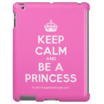 [Crown] keep calm and be a princess  iPad 2/3/4 Cases