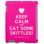 [Love heart] keep calm and eat some skittles!  iPad 2/3/4 Cases