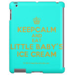 [Cupcake] keepcalm and eat little baby's ice cream  iPad 2/3/4 Cases