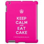 [Cupcake] keep calm and eat cake  iPad 2/3/4 Cases