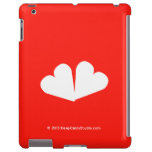 [Two hearts]  iPad 2/3/4 Cases