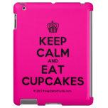 [Cupcake] keep calm and eat cupcakes  iPad 2/3/4 Cases