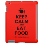 [Cutlery and plate] keep calm and eat food  iPad 2/3/4 Cases