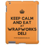 [Crown] keep calm and eat at wrapworks deli  iPad 2/3/4 Cases