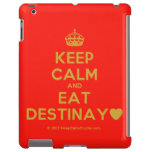 [Crown] keep calm and eat destinay♥  iPad 2/3/4 Cases