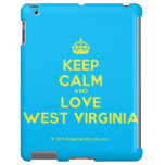 [Crown] keep calm and love west virginia  iPad 2 3 4 Cases