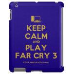 [Computer] keep calm and play far cry 3  iPad 2/3/4 Cases
