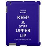 [UK Flag] keep a stiff upper lip  iPad 2/3/4 Cases