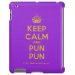 [Crown] keep calm and pun pun  iPad 2/3/4 Cases