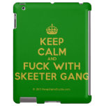 [Crown] keep calm and fuck with skeeter gang  iPad 2/3/4 Cases